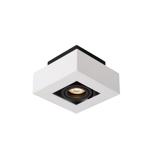 Lucide plafondlamp Xirax 1x5W wit dimbaar