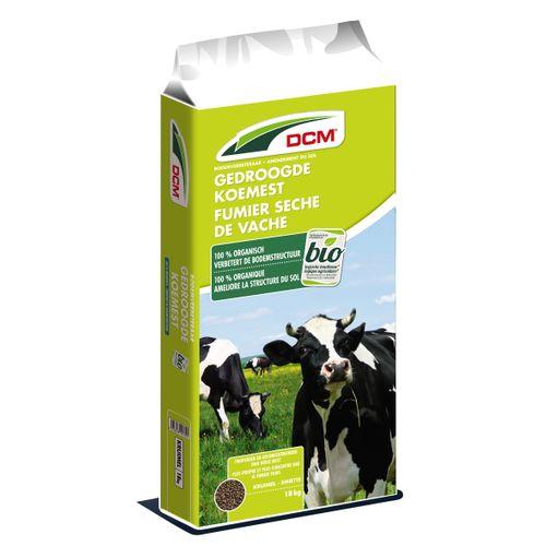 Fumier de vache séché DCM Bio 18kg