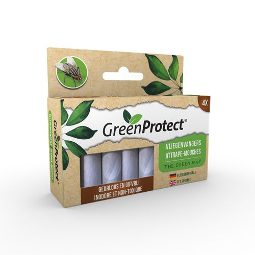 Attrape-mouches Edialux Green Protect 4pcs