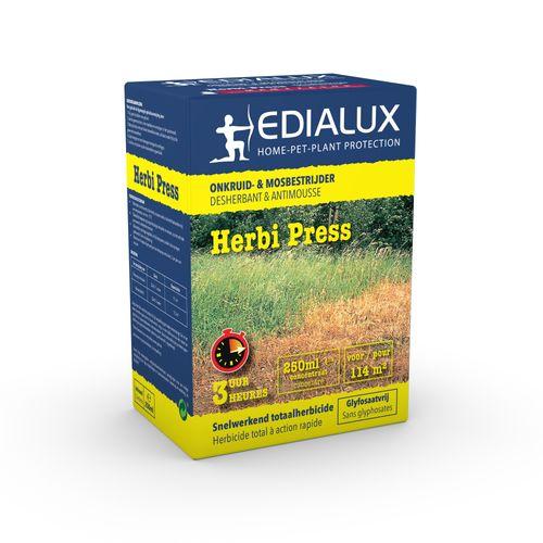 Déserbant et antimousse Edialux Herbi Press 250ml 114m²