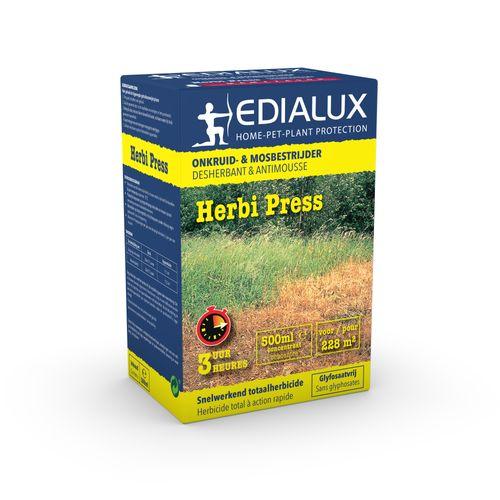 Déserbant et antimousse Edialux Herbi Press 500ml 228m²