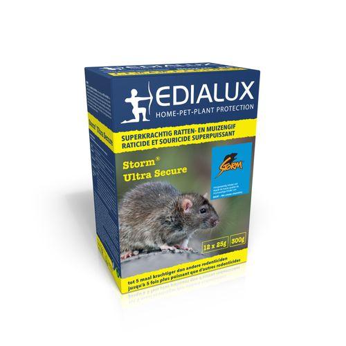 Appât anti-souris et anti-rats Edialux Storm Ultra Secure 300g
