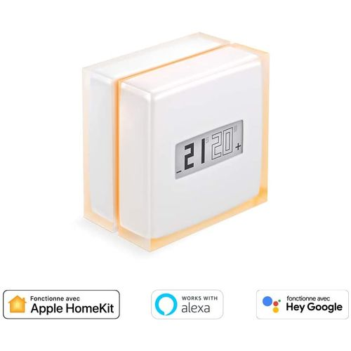 Netatmo thermostat intelligent transparent sans fil