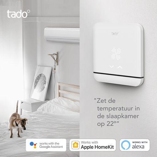 Tado contrôle intelligent de climatisation V3 +  Efficient smart blanc