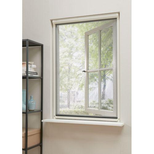 Moustiquaire enroulable de fenêtre CanDo Comfort blanche 134x155cm