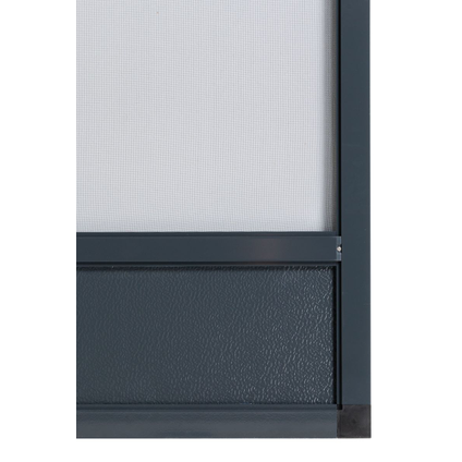 Moustiquaire de porte Cando Premium 100x235cm anthracite