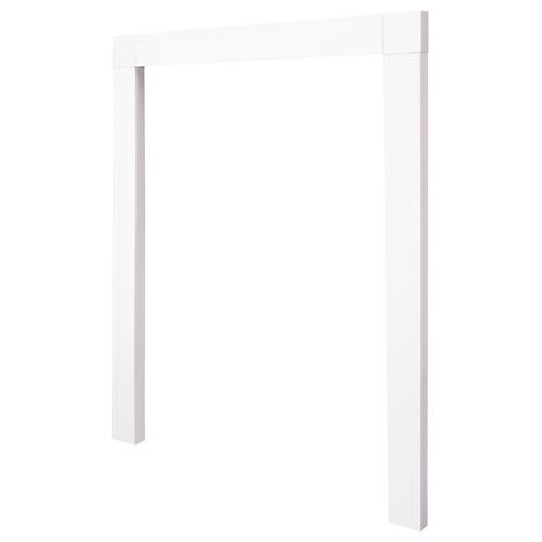 Cando inbouwkader hordeuren wit 108x239cm