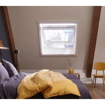 Toile moustiquaire fenêtre de toit Cando 120x140cm blanc