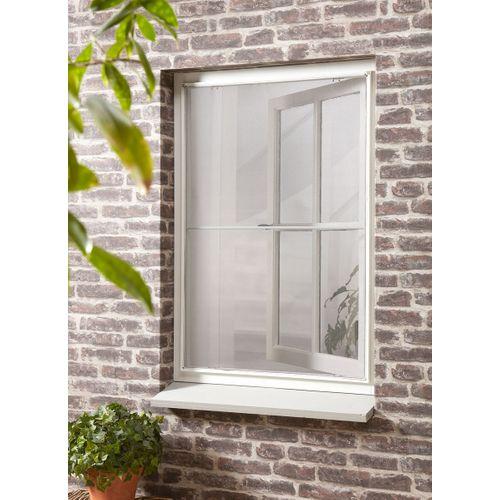 Moustiquaire de fenêtre CanDo Standard blanche 100x120cm