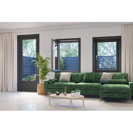 Cando voorzethor Standard wit 120x150cm