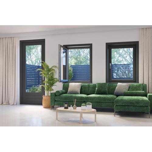 Moustiquaire de fenêtre Cando Standard 120x150 anthracite