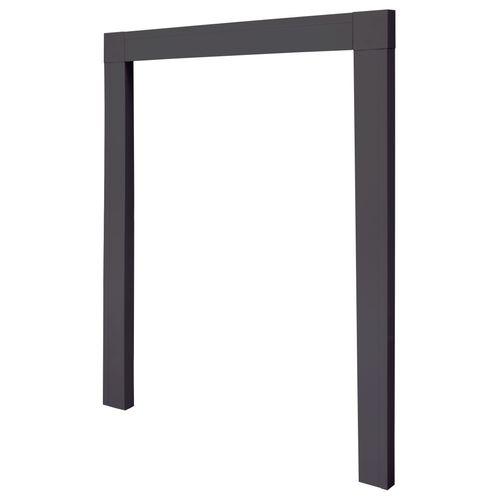 Cadre d'encatrement Cando pour porte moustiquaire 108x239cm anthracite