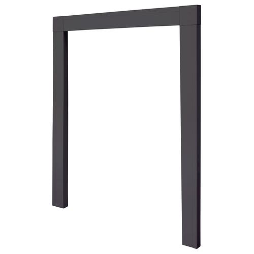 Cando inbouwkader hordeuren antraciet 108x239cm