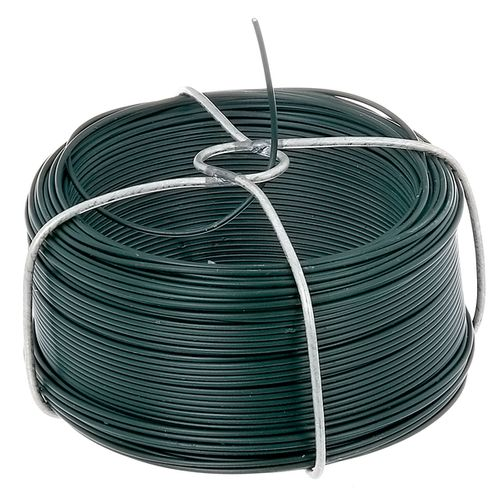 GAH Alberts draadspoel ruwstaal gegalvaniseerd groen 1,2mm 50m