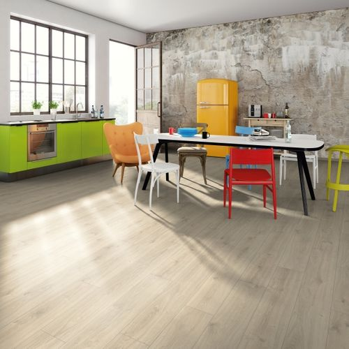 Parquet stratifié DecoMode  Aqua Aruba 8mm 1,994m²