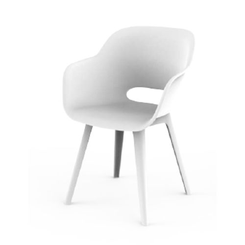 Akola cup chaise blanche
