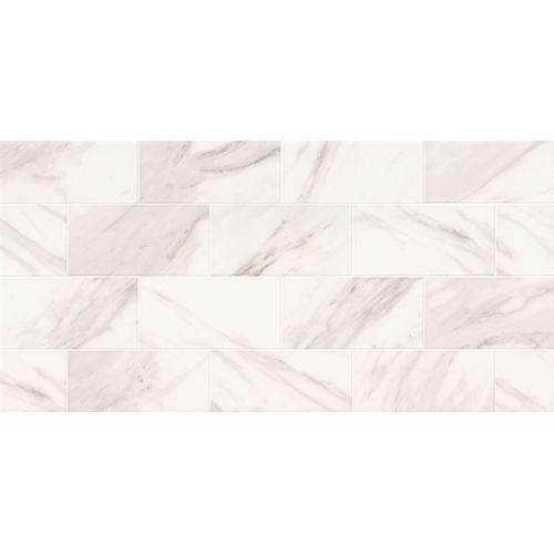 Carrelage mur Meissen Ceramics Marble Charm Dekor rectifié 29x59,3cm 1,2m²
