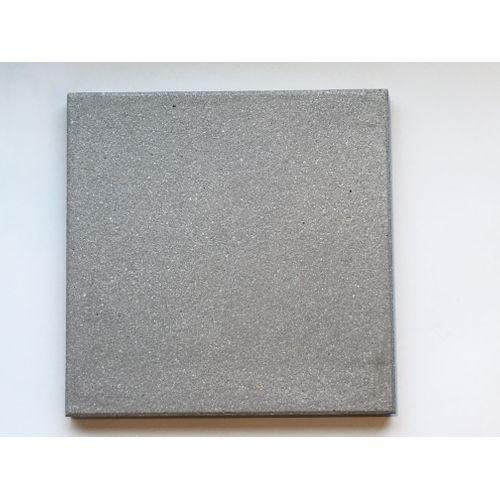 Dalle de terrasse Rodal Strutturato Ostende 40x40x3.7cm gris sablé