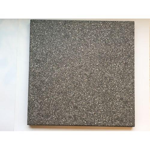 Dalle de terrasse Rodal Grand Format Ronse 60x60x4.1cm anthracite sablé