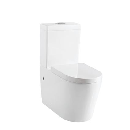 Aquazuro ceramic toilet Savio white