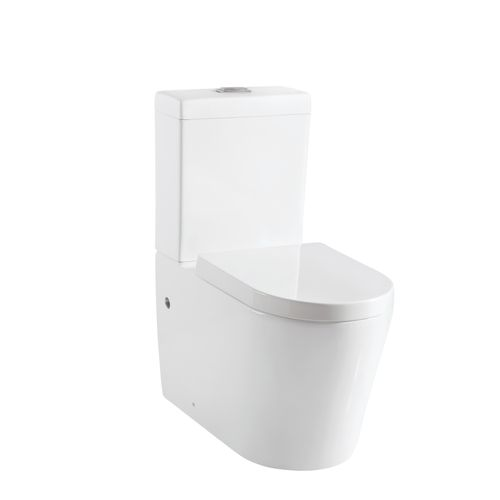 Aquazuro ceramic toilet Savio white