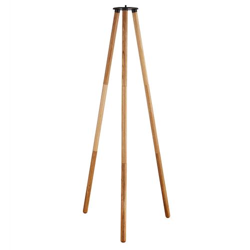 Nordlux driepoot Kettle natuur hout 103cm