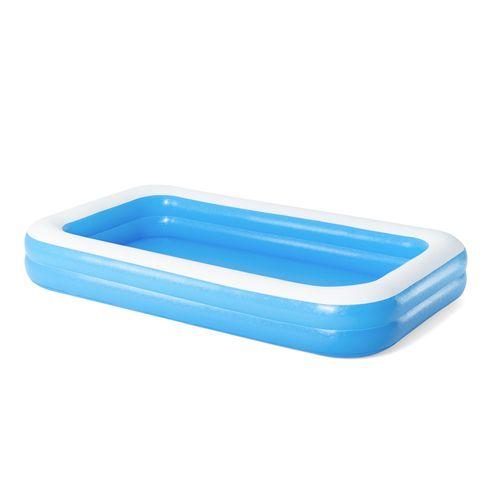 Bestway opblaasbaar zwembad Family Pool rechthoekig blauw 305x183x46cm