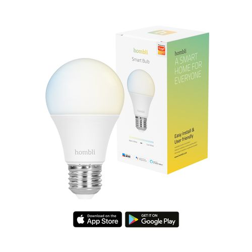 Ampoule LED Hombli smart E27 9W