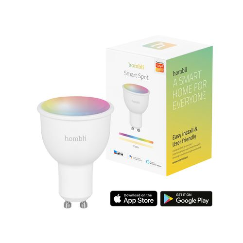 Ampoule LED Hombli smart couleur GU10 4,5W