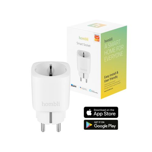 Hombli slimme wifi stekker wit