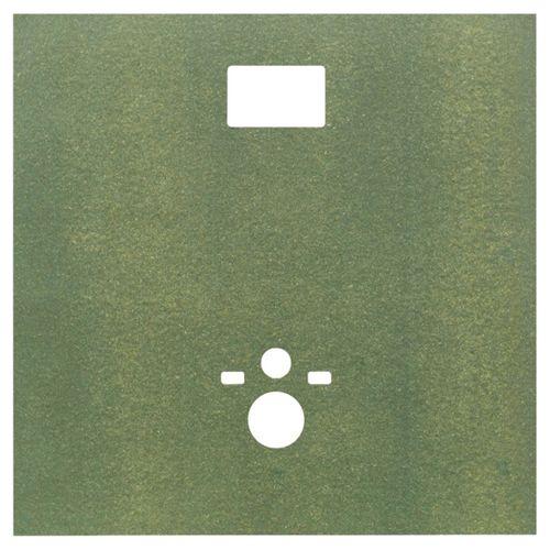 Sanipan spaanplaat voor hangtoilet 123x120cm