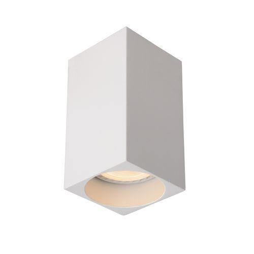 Lucide plafondlamp Delto vierkant wit