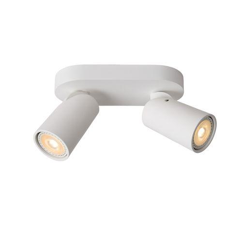 Lucide spot LED Xyrus wit 2x5W
