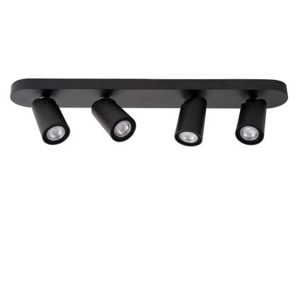 Lucide spot LED Xyrus zwart 4x5W