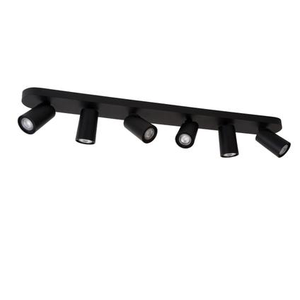 Lucide spot LED Xyrus zwart 6x5W
