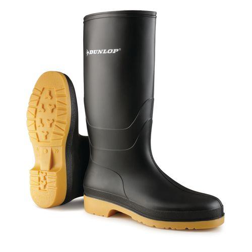 AB-Bottes de sécurité Dunlop Dull noir taille 39 uni