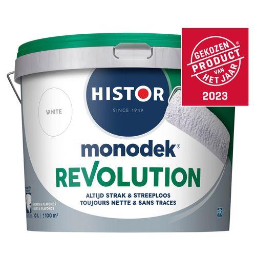 Histor latex Monodek Revolution mat wit 10L