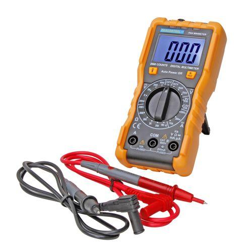 Multimètre numérique Kopp Mini 7 fonctions 18 plages de mesure