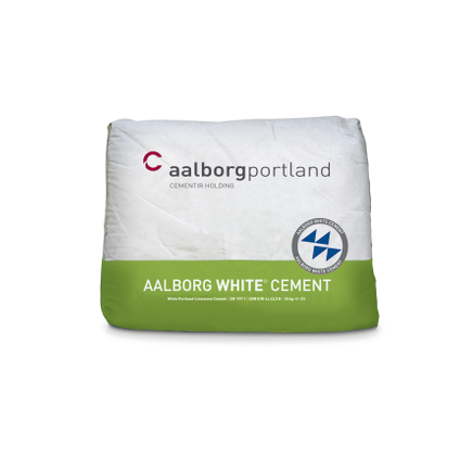 Ciment blanc Coeck 42,5N 25kg + palette 5696730
