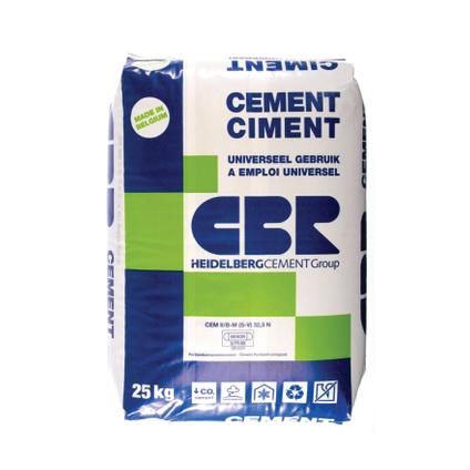 Ciment CBR CEM II 32,5N 25kg + palette 3004837