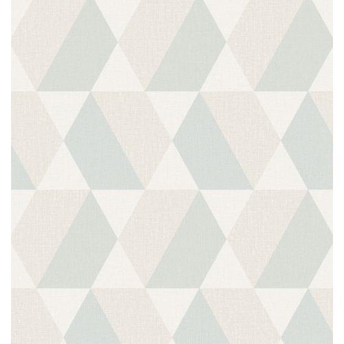 Papier peint vinyle Daturan bleu SN3404