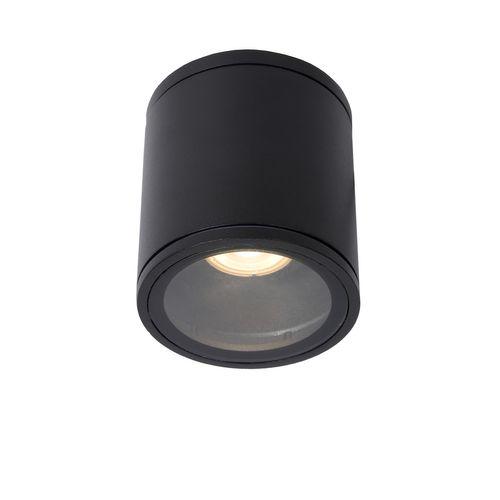 Lucide plafondlamp Aven rond zwart