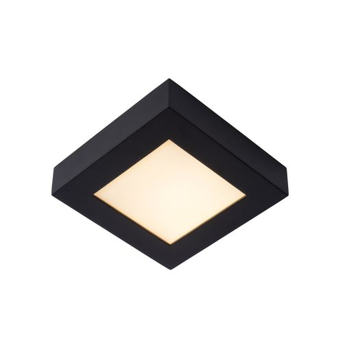 Lucide plafondlamp Brice-LED zwart 15W