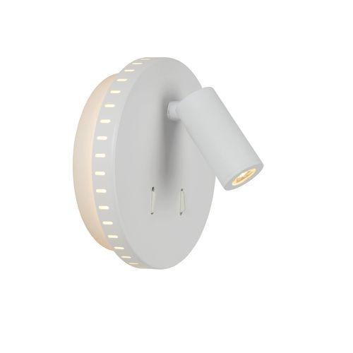 Lucide applique LED Bentjer blanche