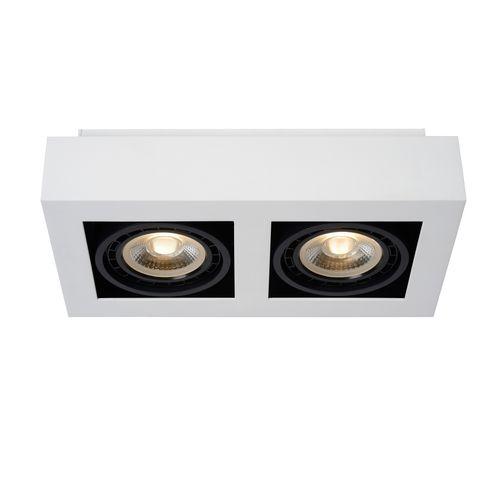 Lucide spot LED Zefix blanche 2x12W