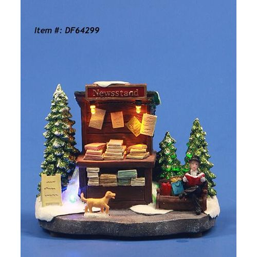 Boutique de Noël Central Park LED 14x8x11,5cm