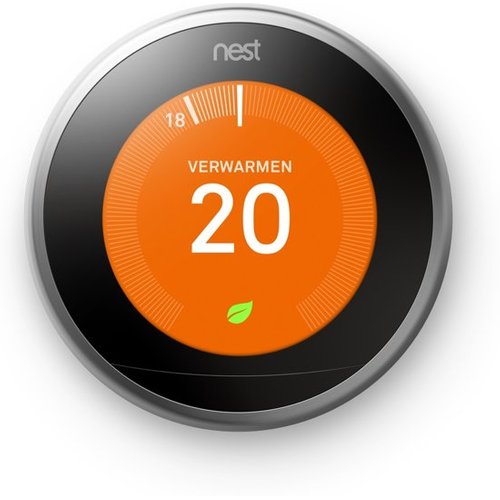 Google Nest Learning Thermostat 3de generatie