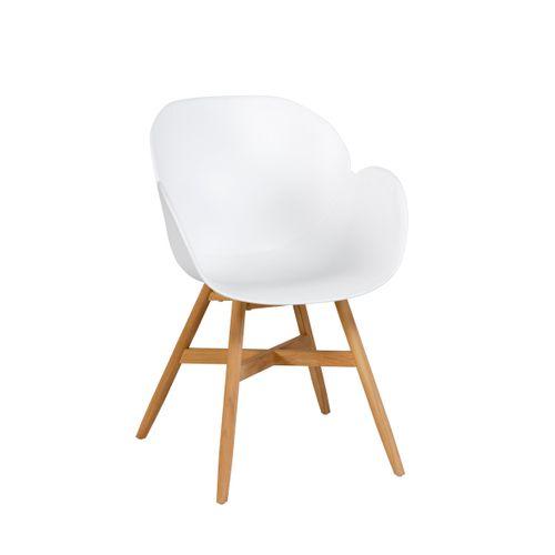 Chaise de jardin Exotan Tulip blanc