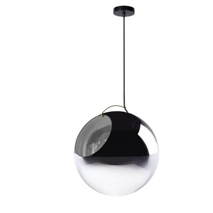 Lucide hanglamp Jazzlynn gerookt glas E27