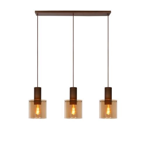 Lucide hanglamp Toledo balk 3xE27